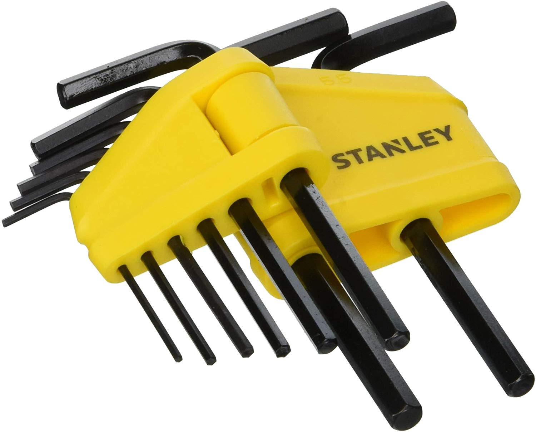 Stanley 8pc metric Hex Key Set