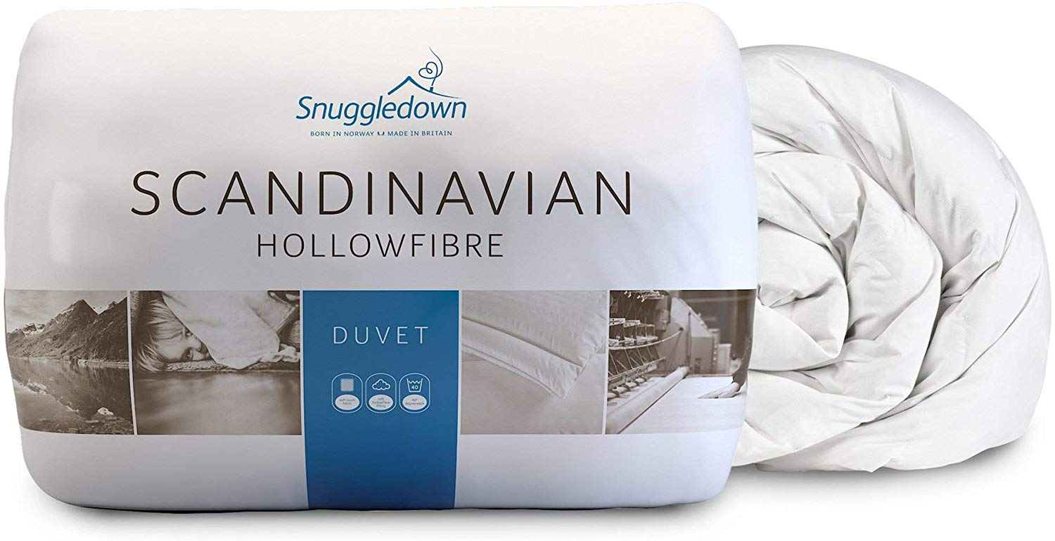 Snuggledown Classic Hollow Fibre Duvet, 10.5 Tog All Year Round, King Size