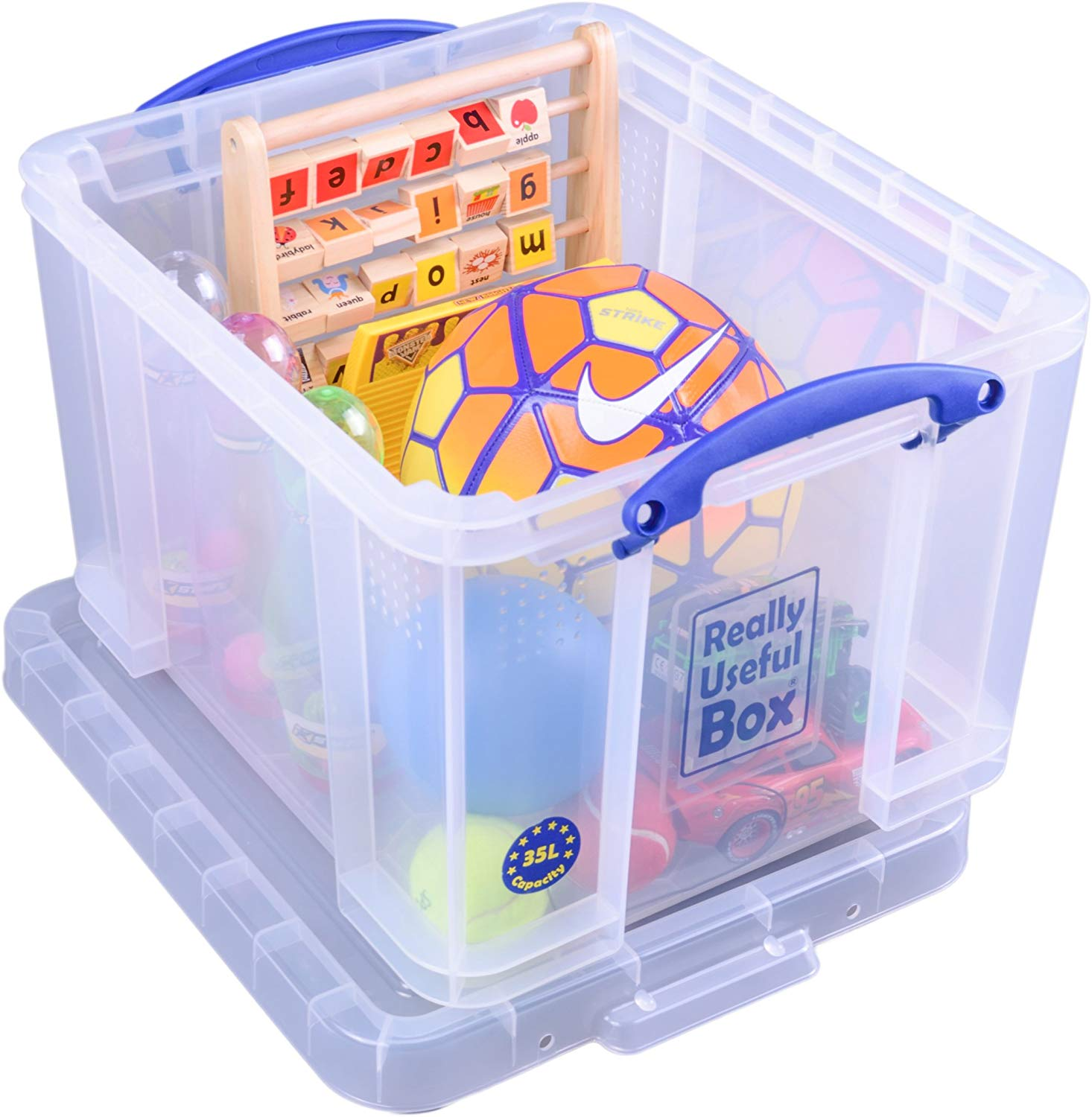 47% off Really Useful Box 35 Litre Clear