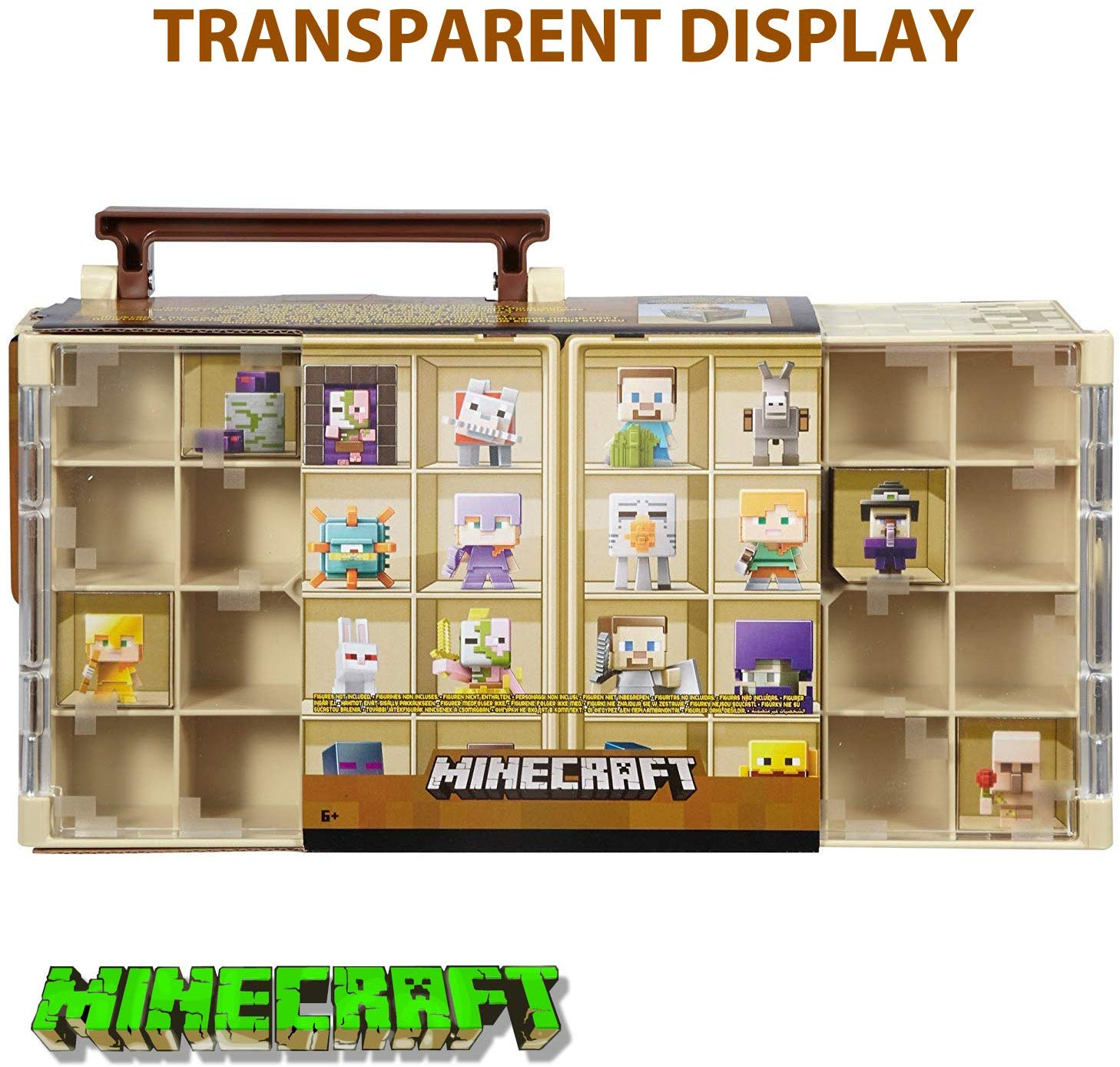69% off  Mini figure Collector Case | Desert Theme Design Holds 32 Minecraft Minifigures
