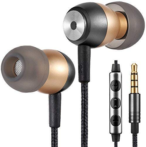 Betron GLD60 Noise Isolating in Ear Earphones Headphones Bass Driven Sound