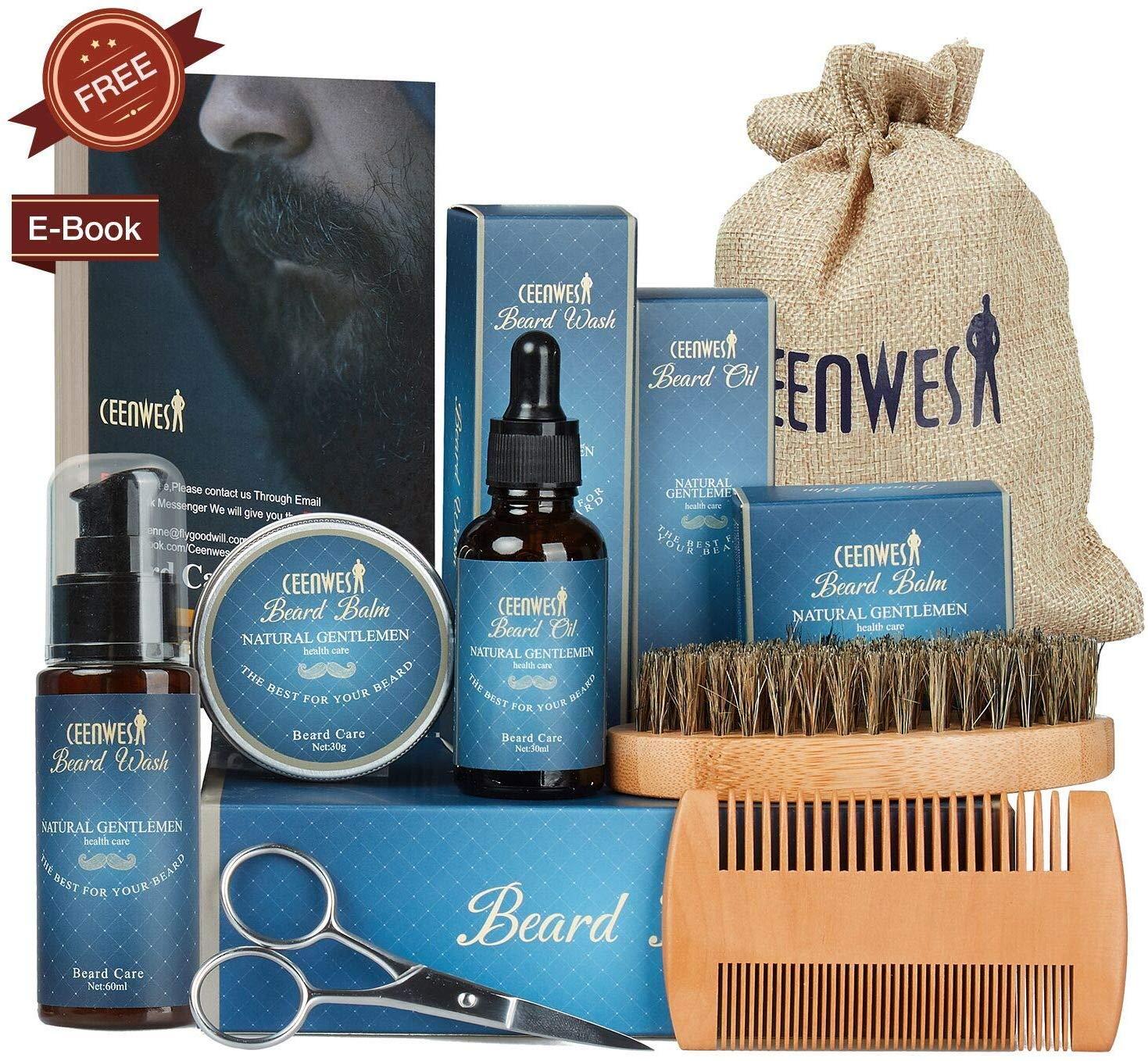 Ceenwes 9 in 1 Beard Grooming Kit