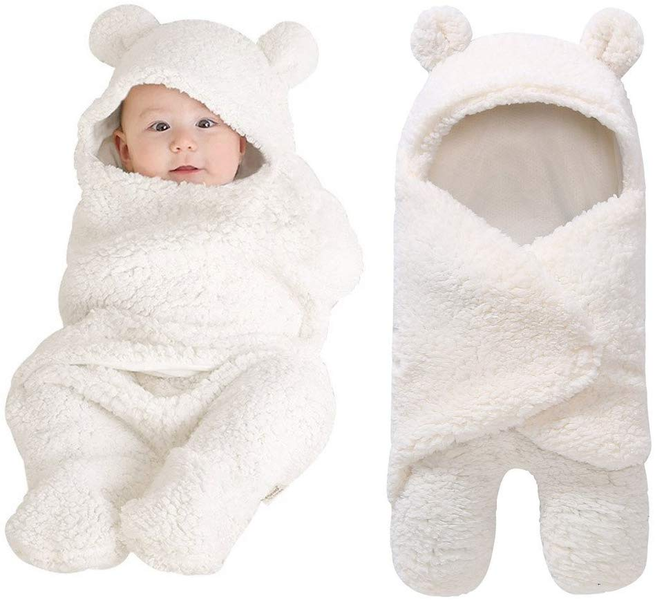 Y56 Baby Sleeping Bag Wrap Blanket Universal Baby Cute Newborn Infant Baby Boy Girl Swaddle Photography Prop