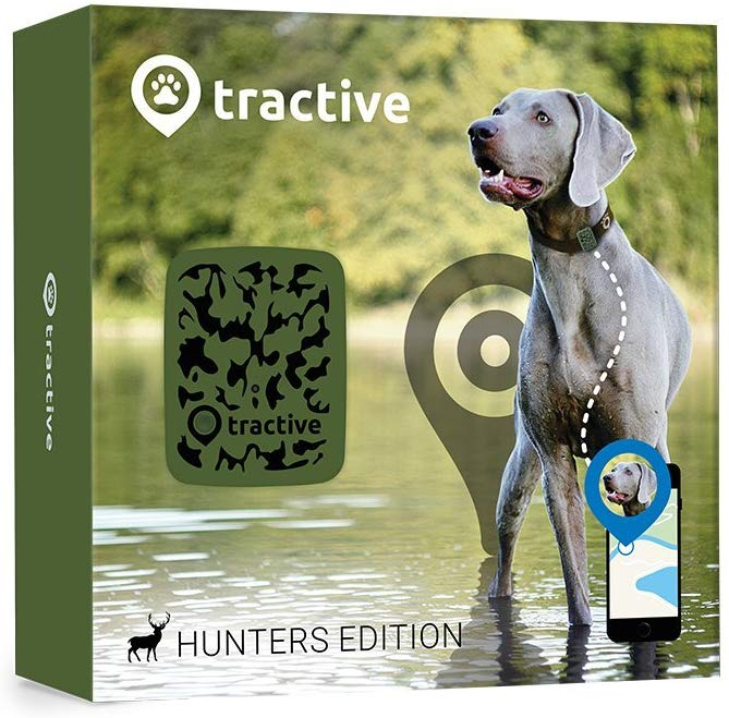 Tractive Dog GPS Tracker – Lightweight and waterproof dog tracking device
