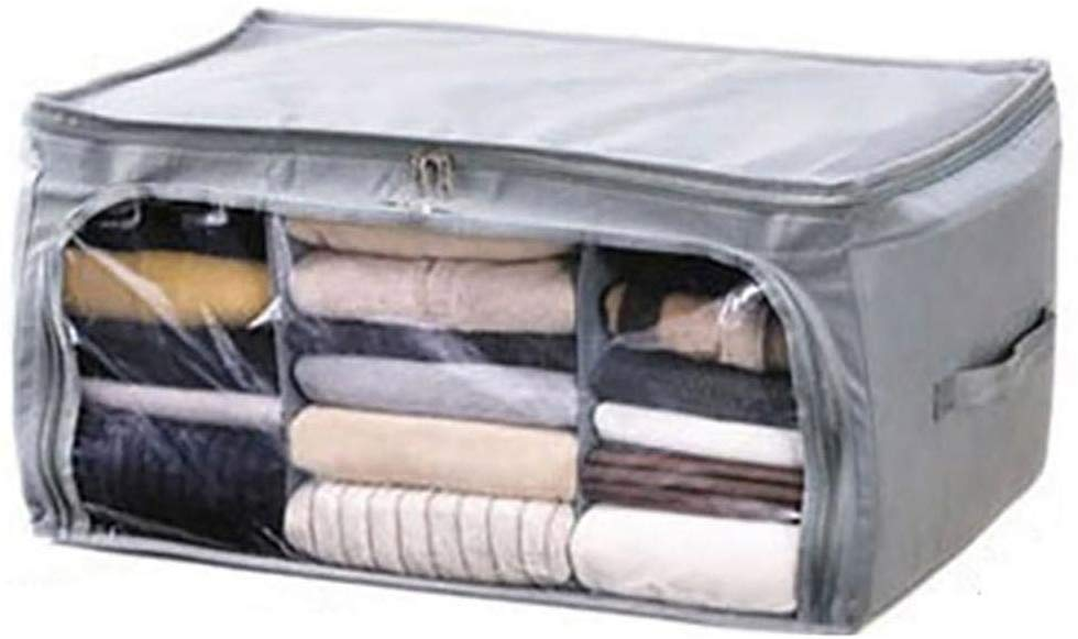 80% off Durable Moisture Proof Dust-proof Print Zipper Closure Quilt Clothes Storage Bag