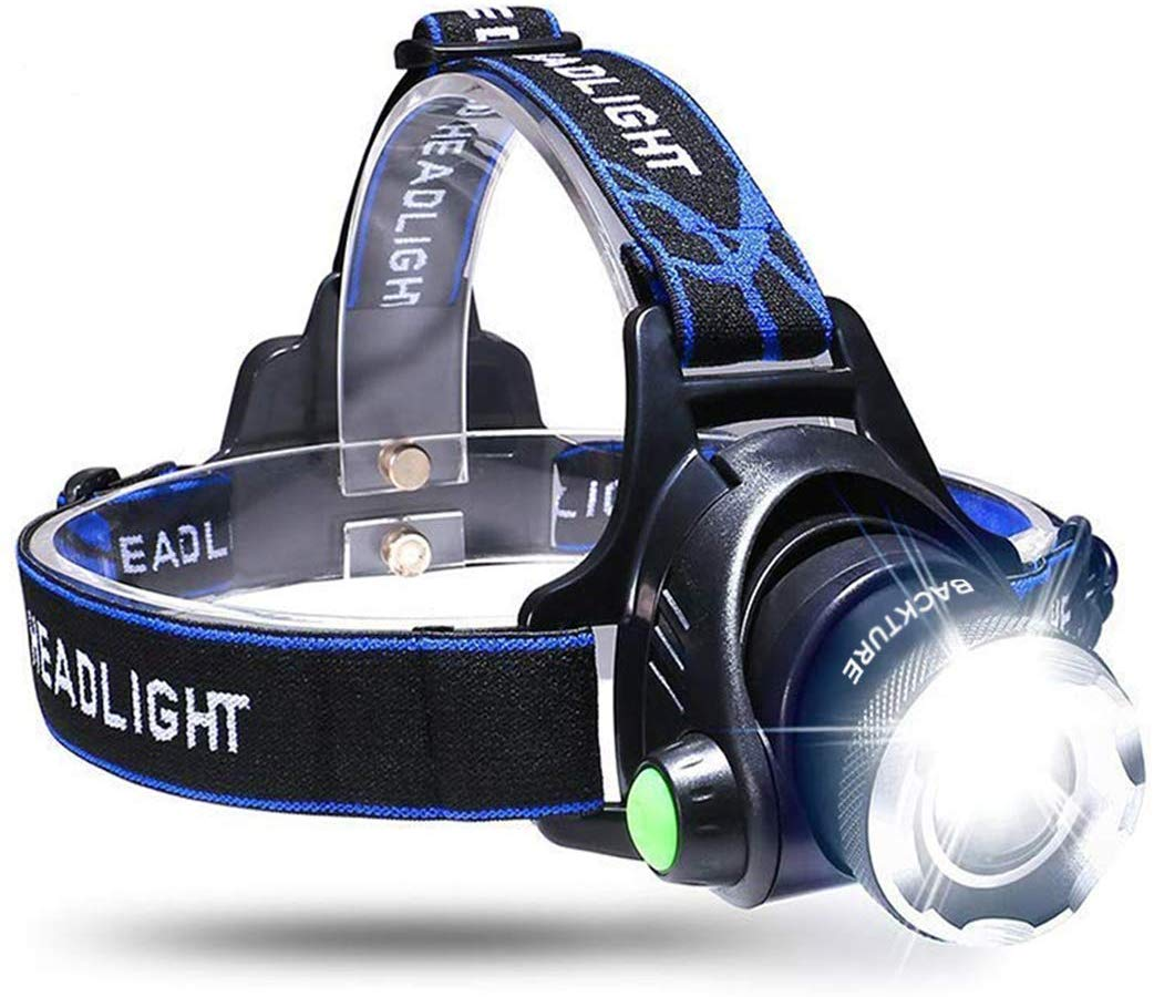 BACKTURE LED Headlamp Headlight Waterproof Adjustable