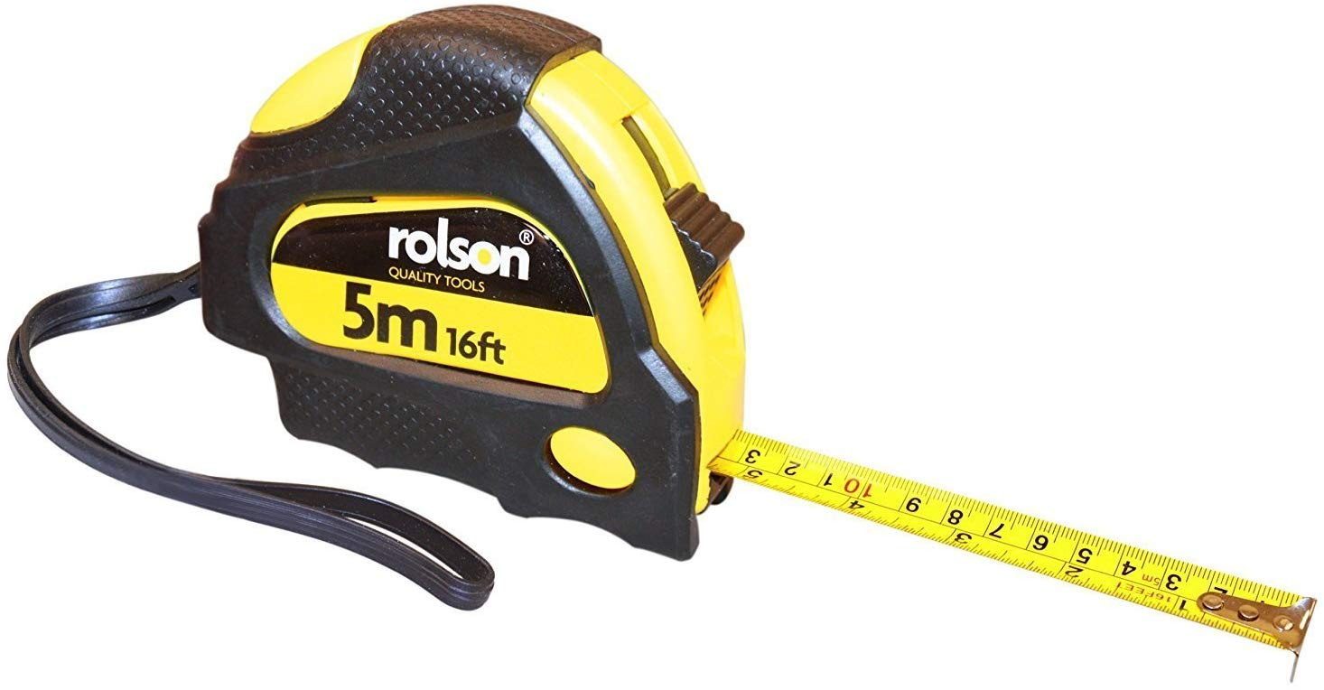 Rolson 50535 5m x 19mm Measure Tape – £1.5 on Amazon
