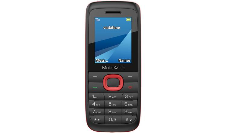 Vodafone Mobiwire Ayasha Mobile Phone 99p on Argos Free C&C