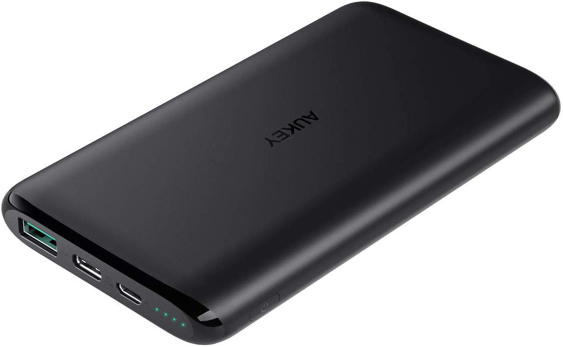 AUKEY 10000mAh  Power Bank,  Dual-Output Battery Pack
