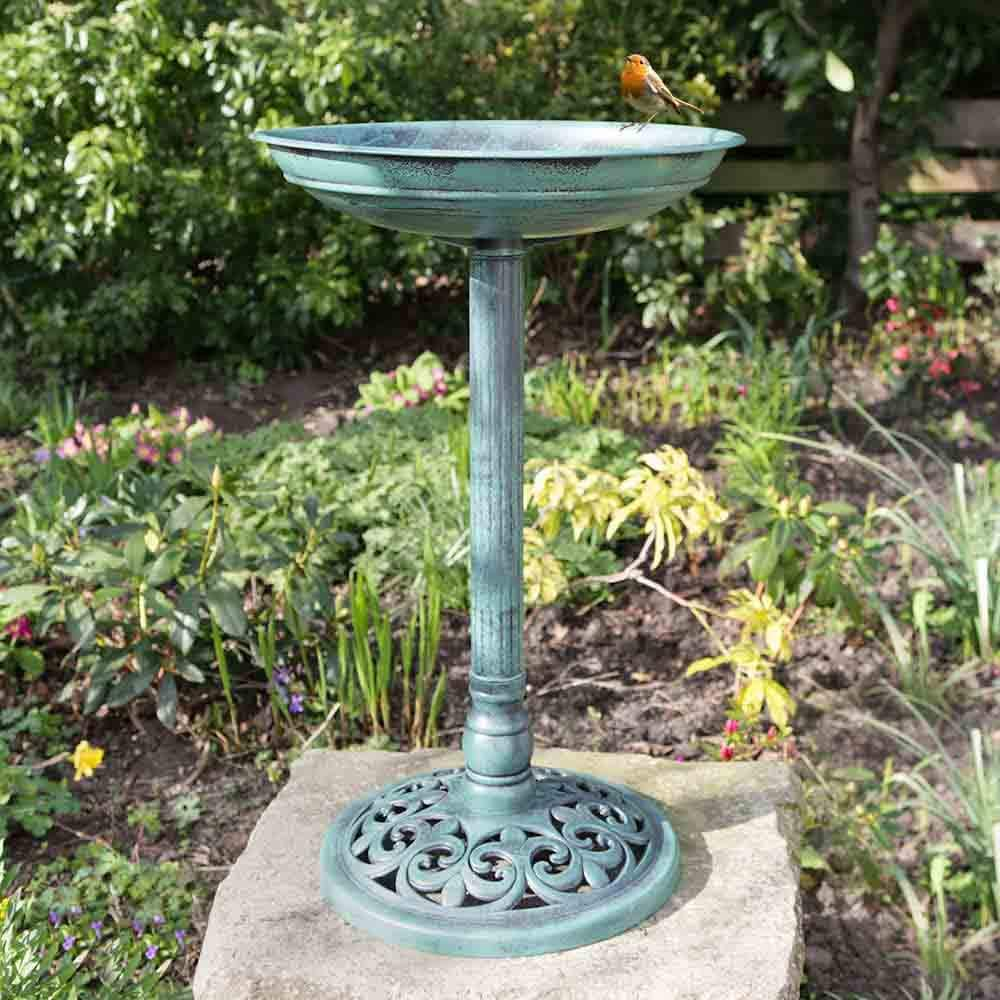 Bonnington Plastics Kingfisher BBATH Traditional Bird Bath Free Delivery