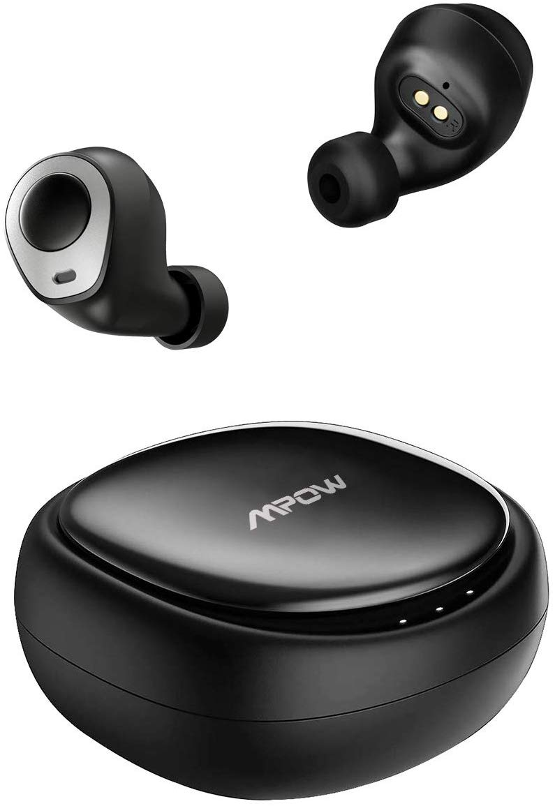 Mpow T3 Bluetooth 5.0 Earbuds Up to 25hrs playtime