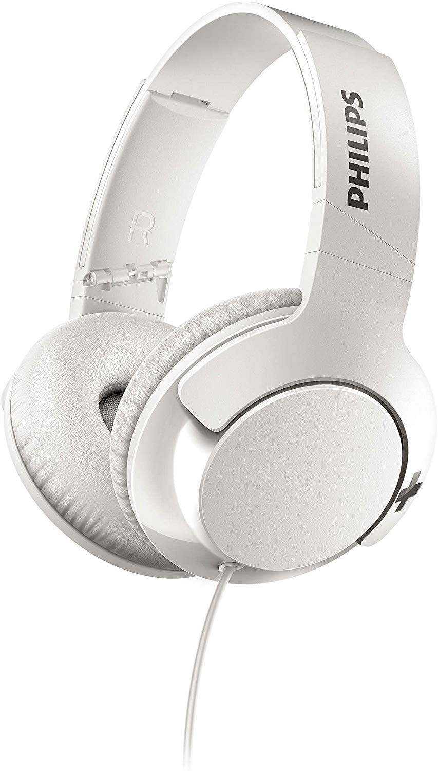 Philips SHL3175WT BASS+ Headphones with Mic, Remote Control