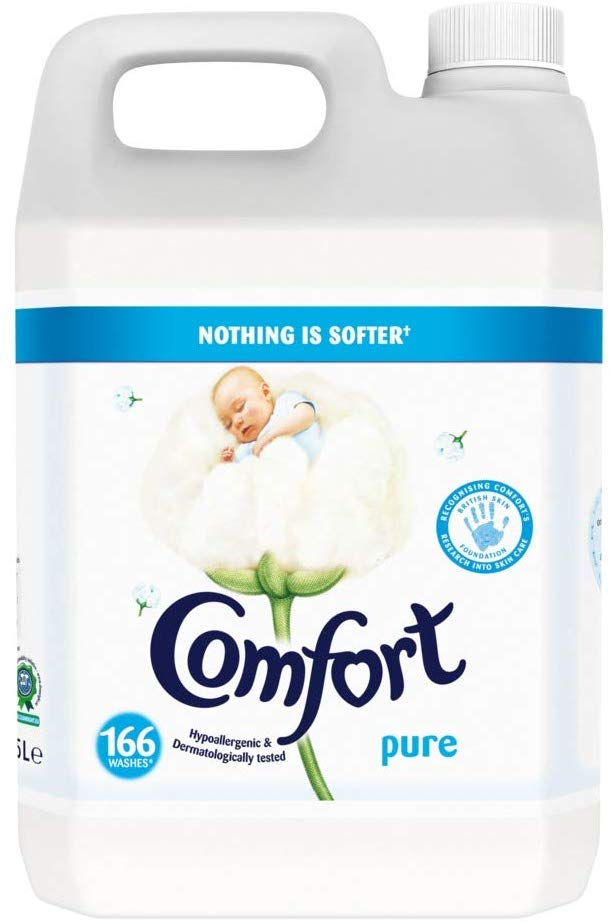 Comfort  Fabric Conditioner 166 Wash, 5 L