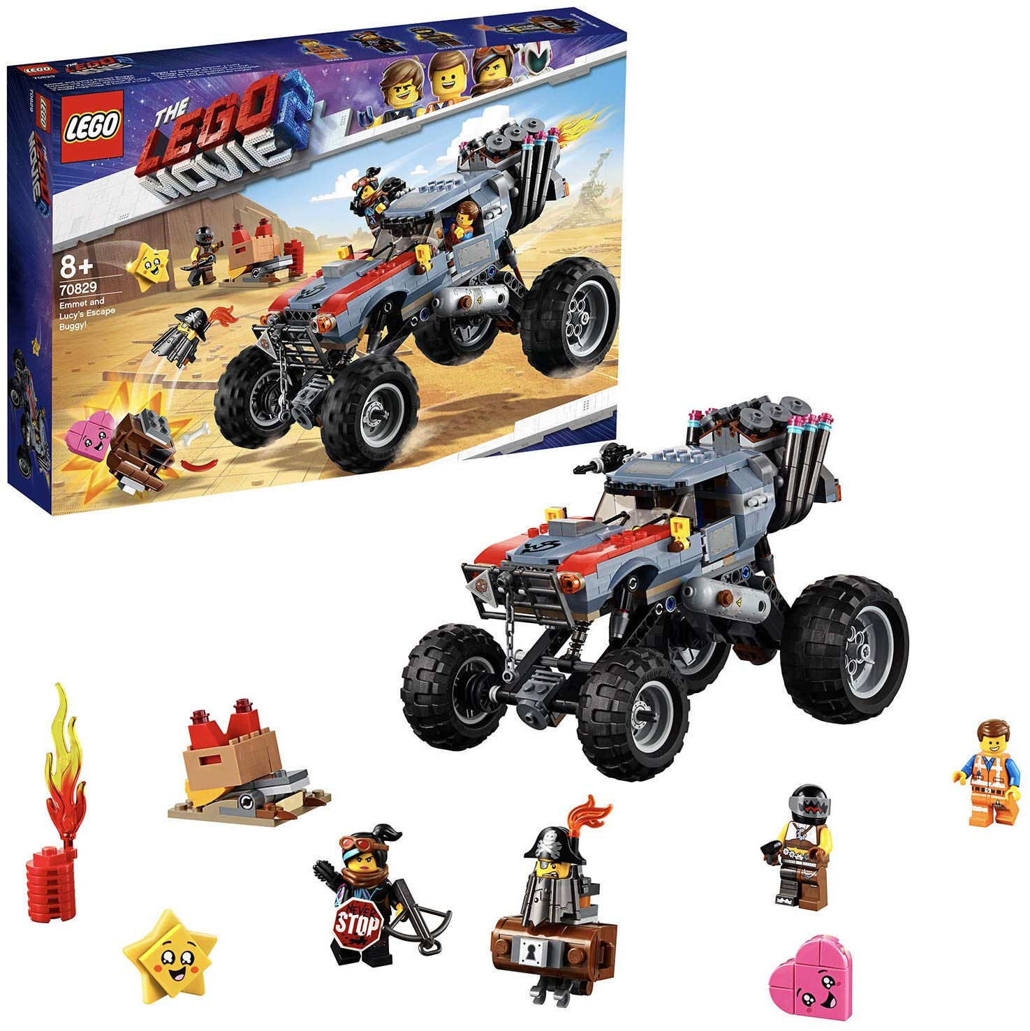 LEGO 70829 Movie 2 Exploding Vehicle Construction Set