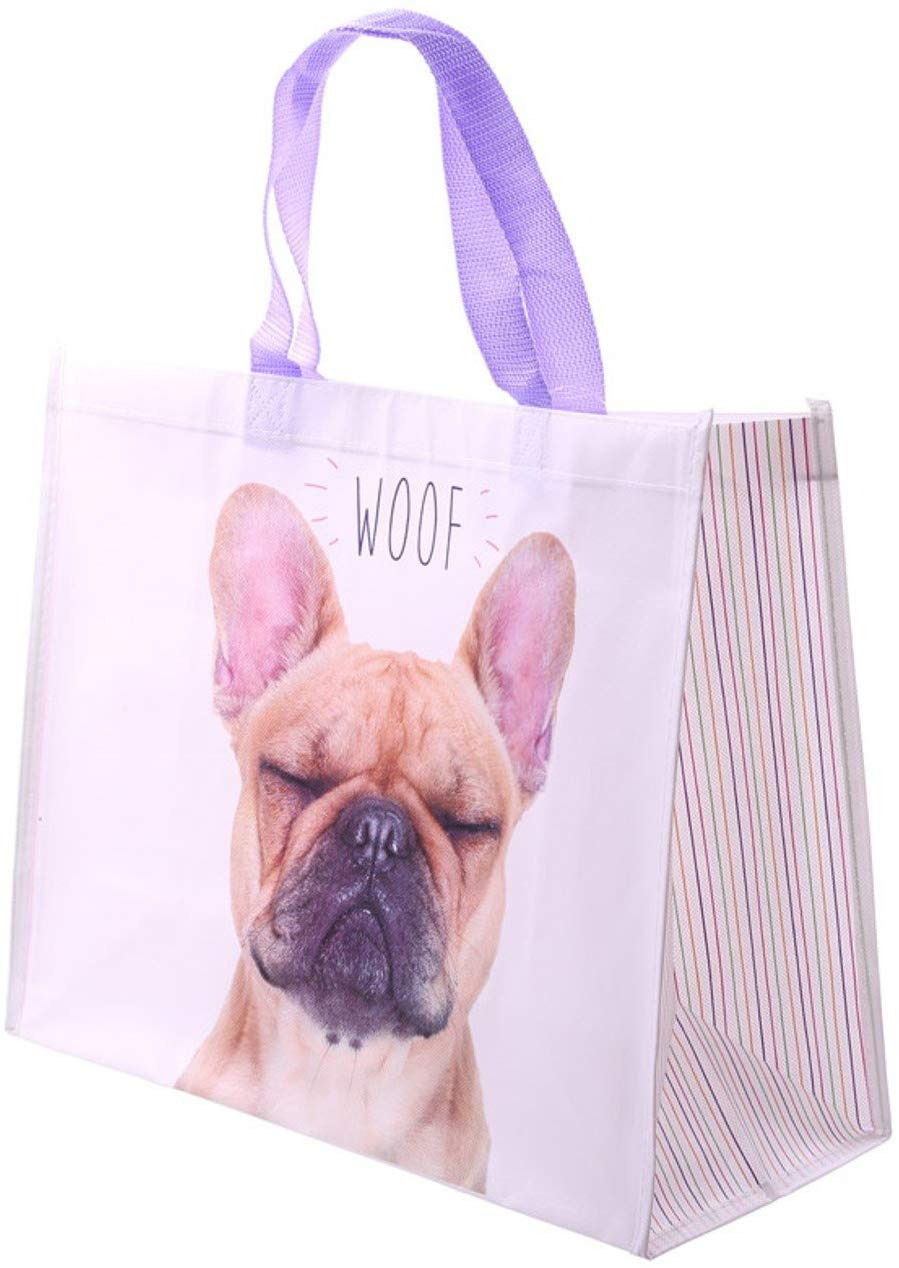 French Bulldog Shopping Bag for £3 FREE delivery