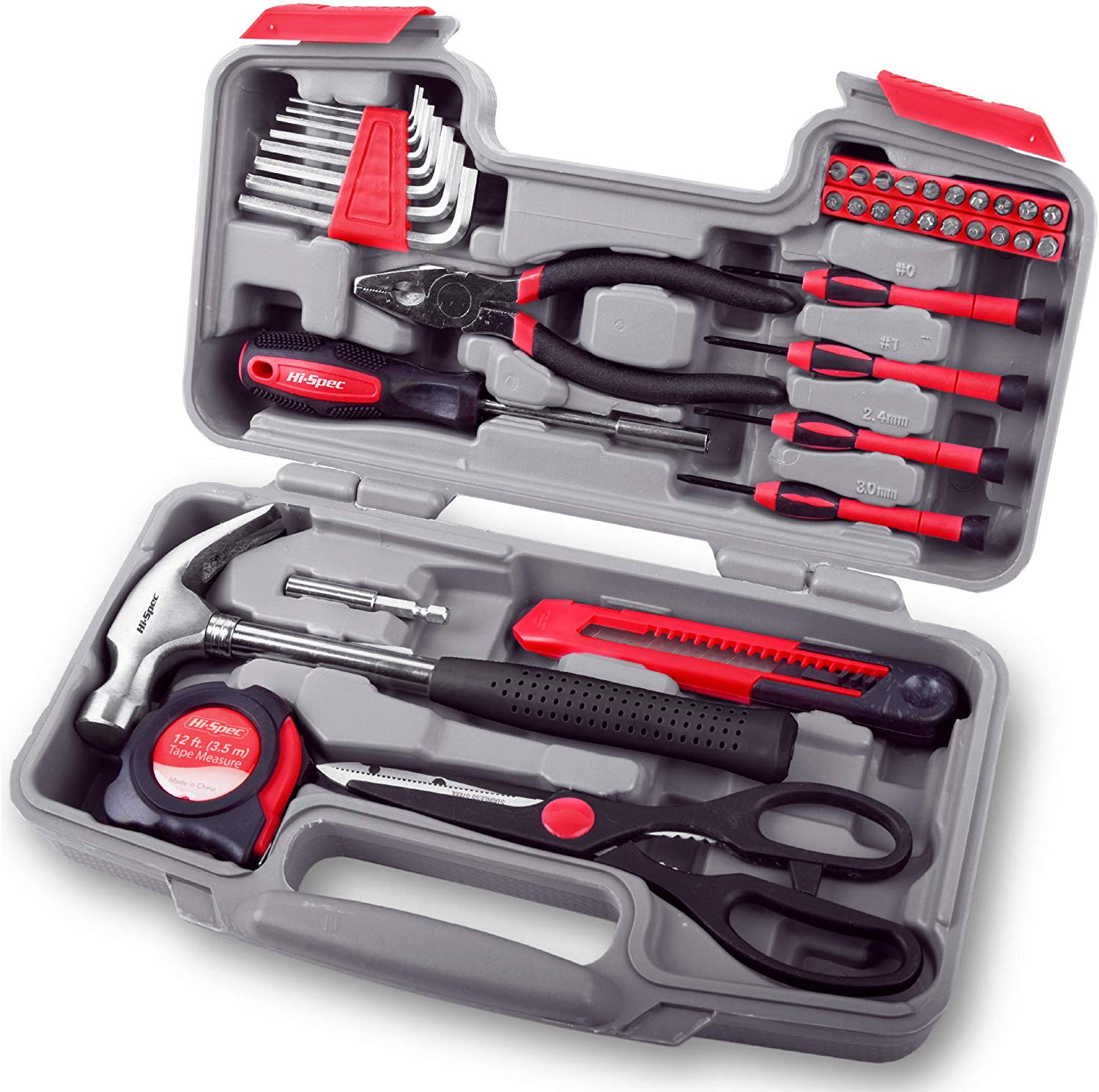Hi-Spec 39 Piece Home & Office Toolkit Set