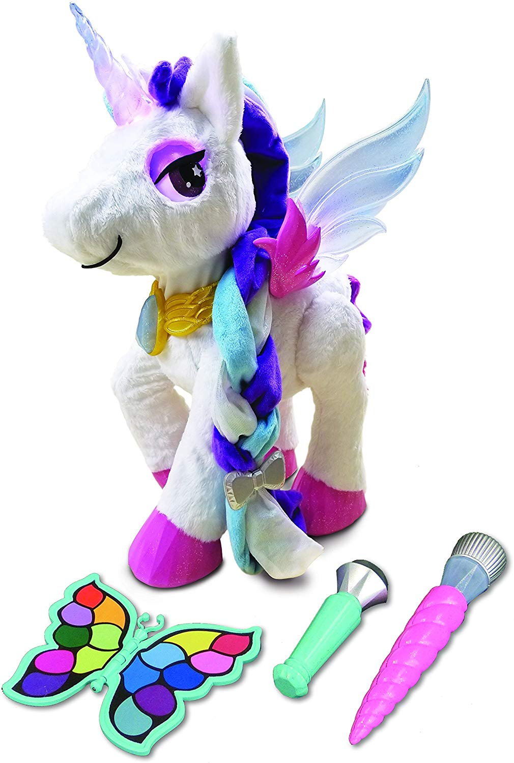 VTech Myla The Magical Make-Up Unicorn Toy with Microphone for Kids