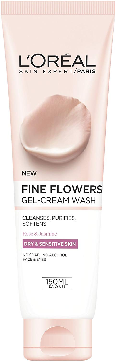 L'Oréal Fine Flowers Cleansing Face Wash, 150ml