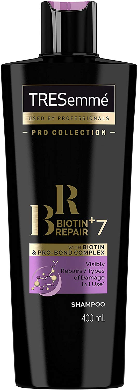 TRESemme Biotin + Repair 7 Shampoo, 400 ml, Pack of 6