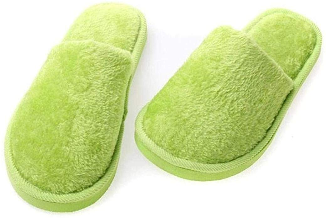 80% off Winter Couples Warm Non-Slip Floor Home Slippers Indoor Bedroom Shoes Slippers