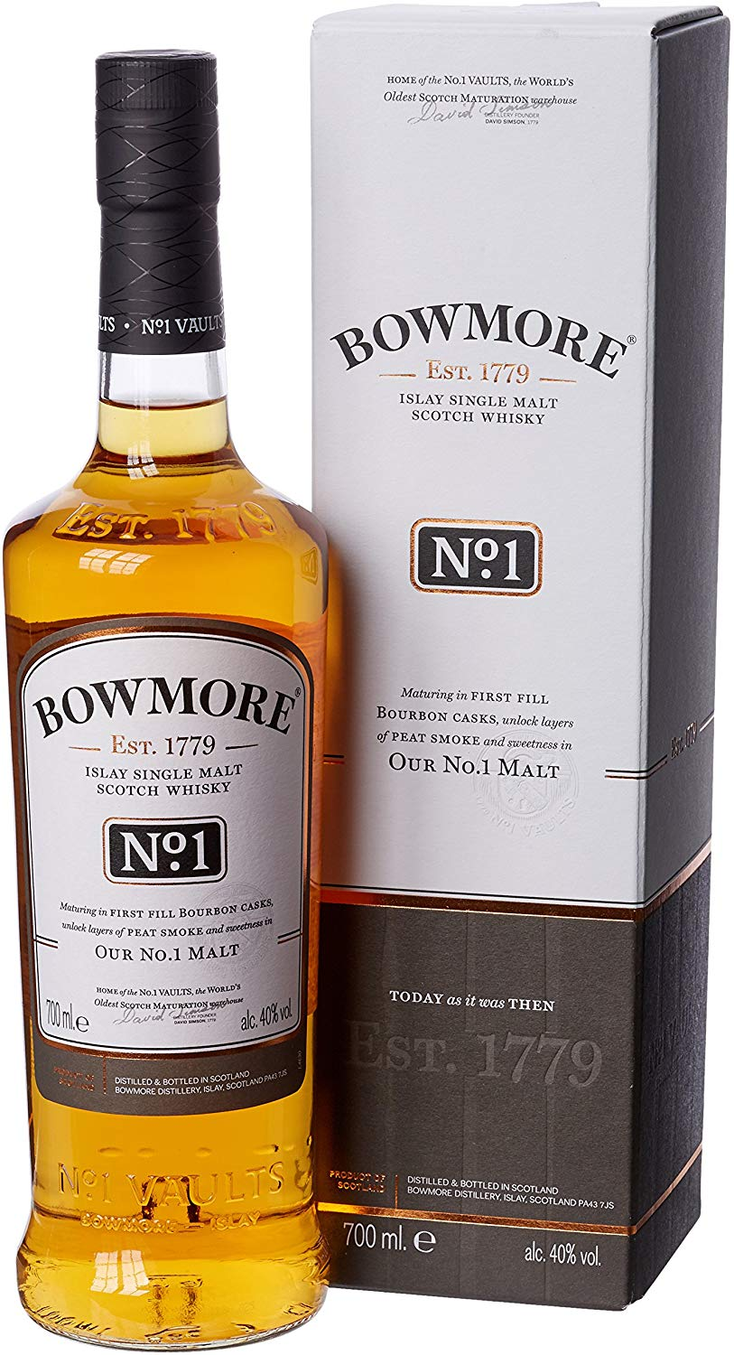 Bowmore No.1 Single Malt Scotch Whisky, 70 cl