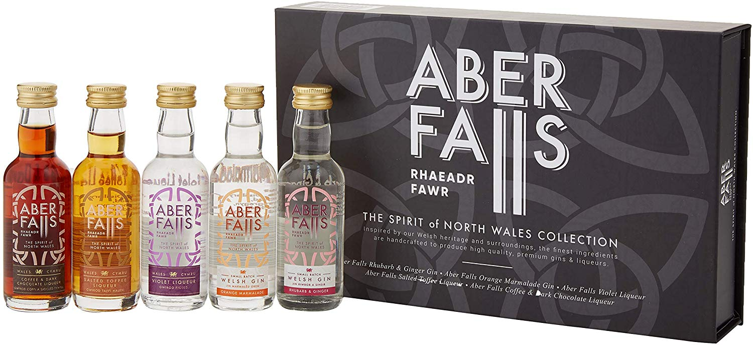 Aber Falls The Spirits of North Wales Gin Collection