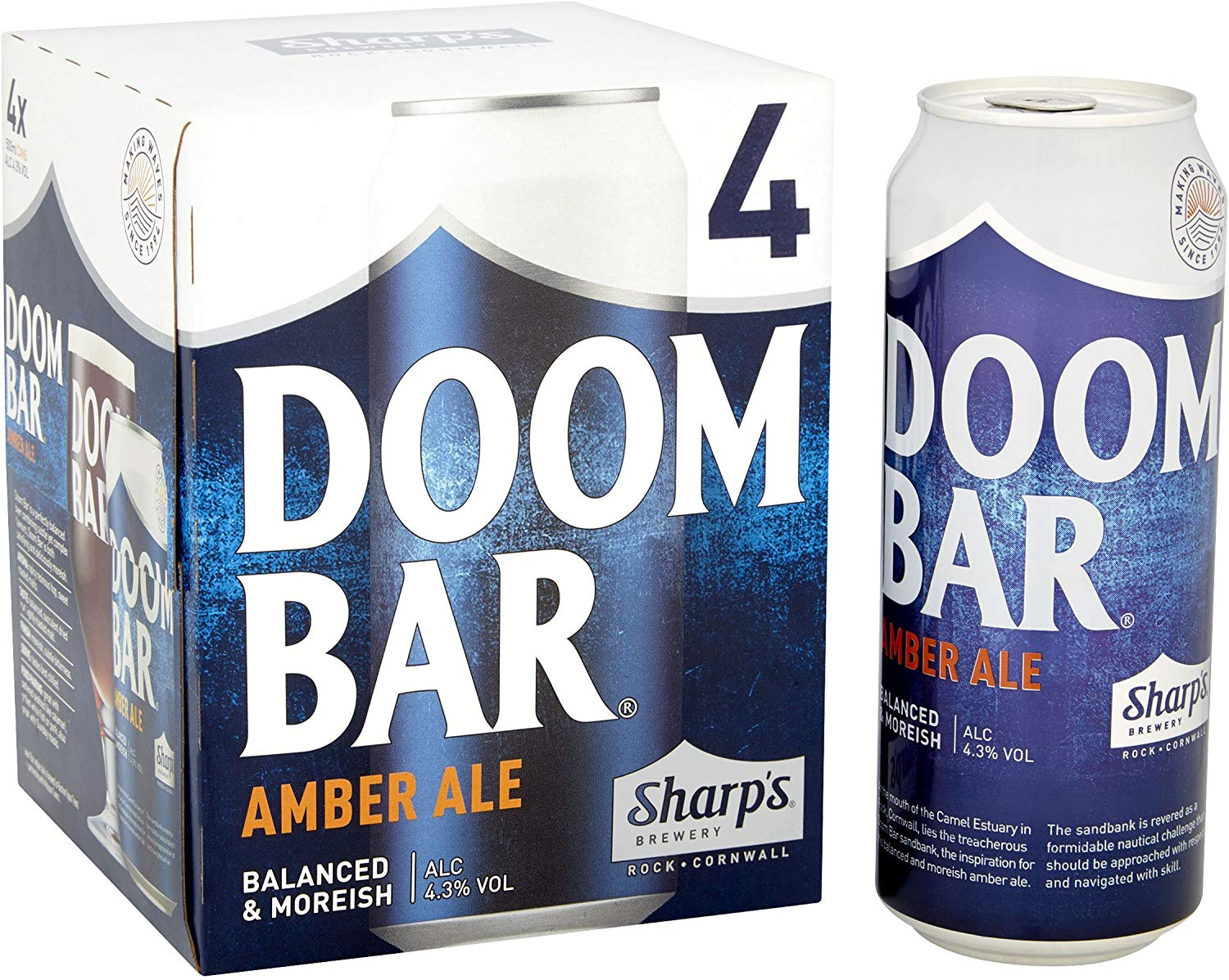 Sharps Doom Bar 24 X 500ml Cans £24