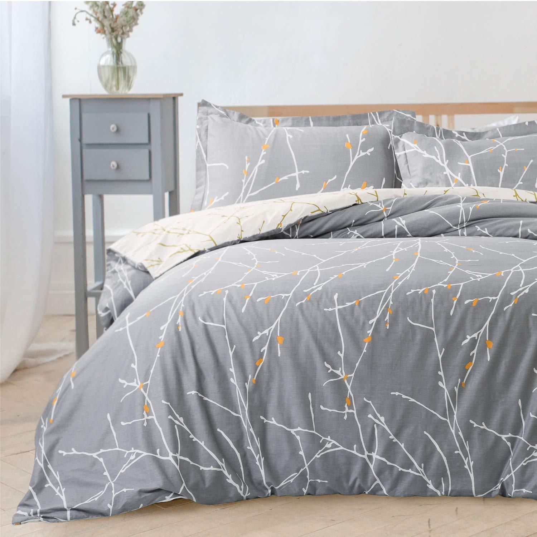 Bedsure Printed Duvet Cover Set