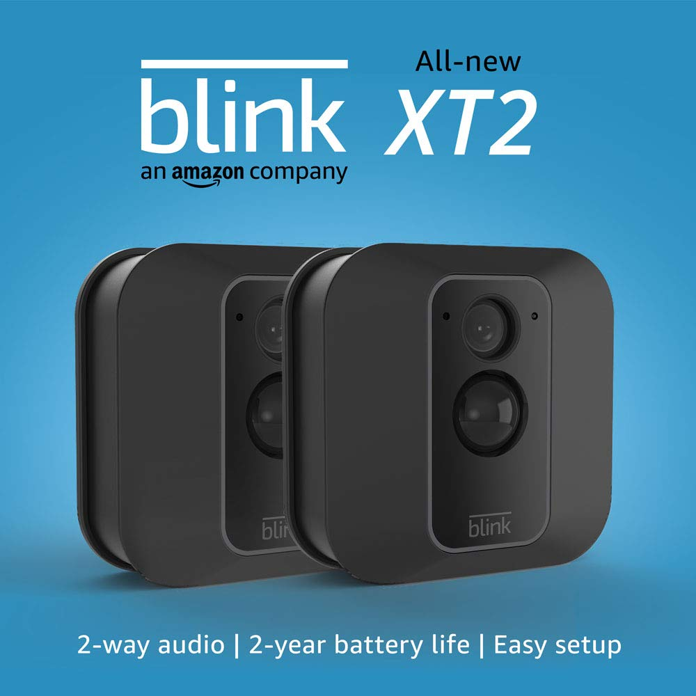 All-new Blink XT2 | Outdoor/Indoor Smart Security Camera, 2-Camera System