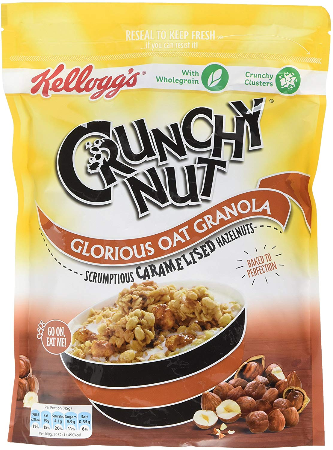 Crunchy Nut Caramelised Nuts Granola Pack of 6