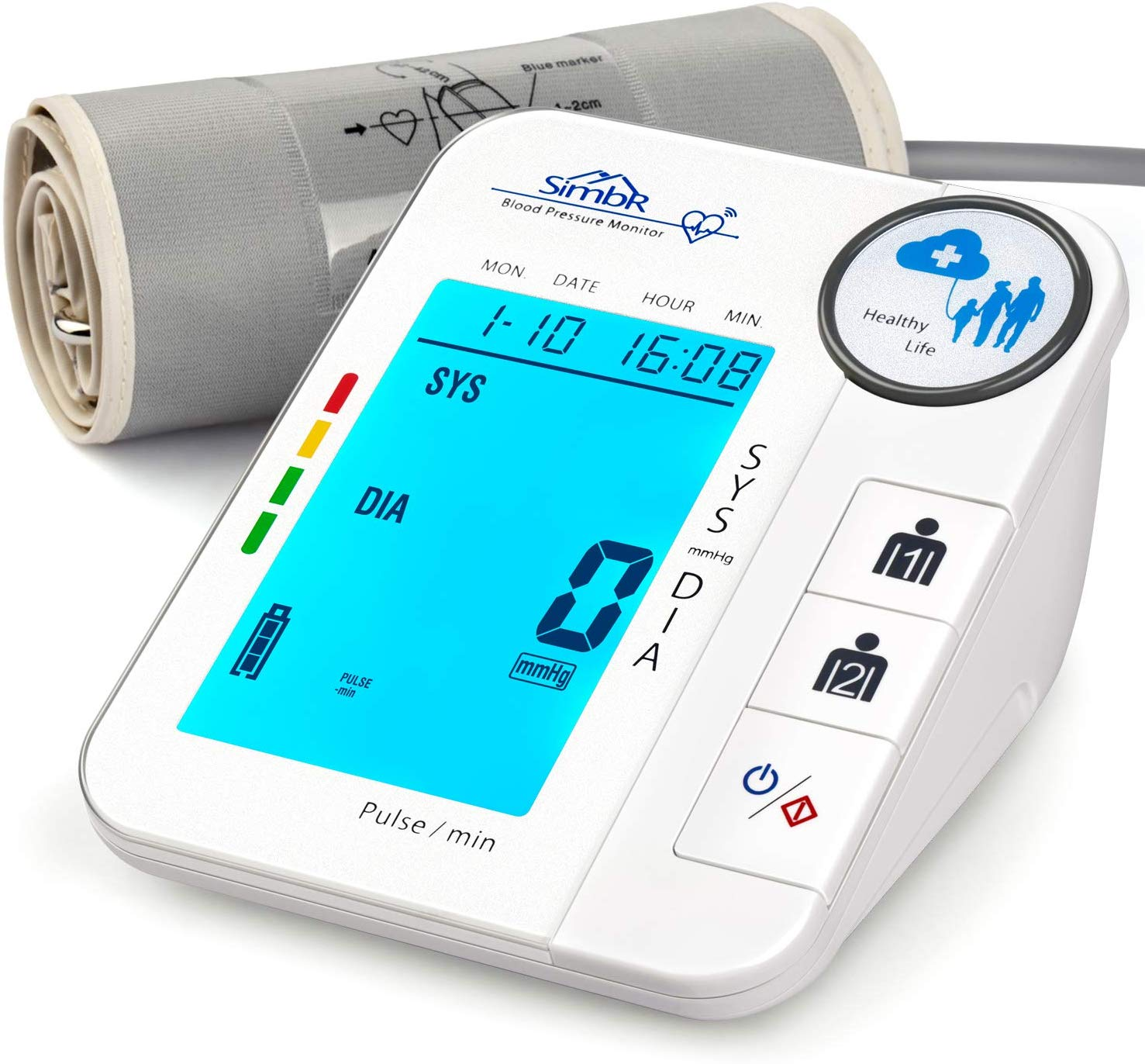 SIMBR Blood Pressure Monitor, Blood Pressure Machine