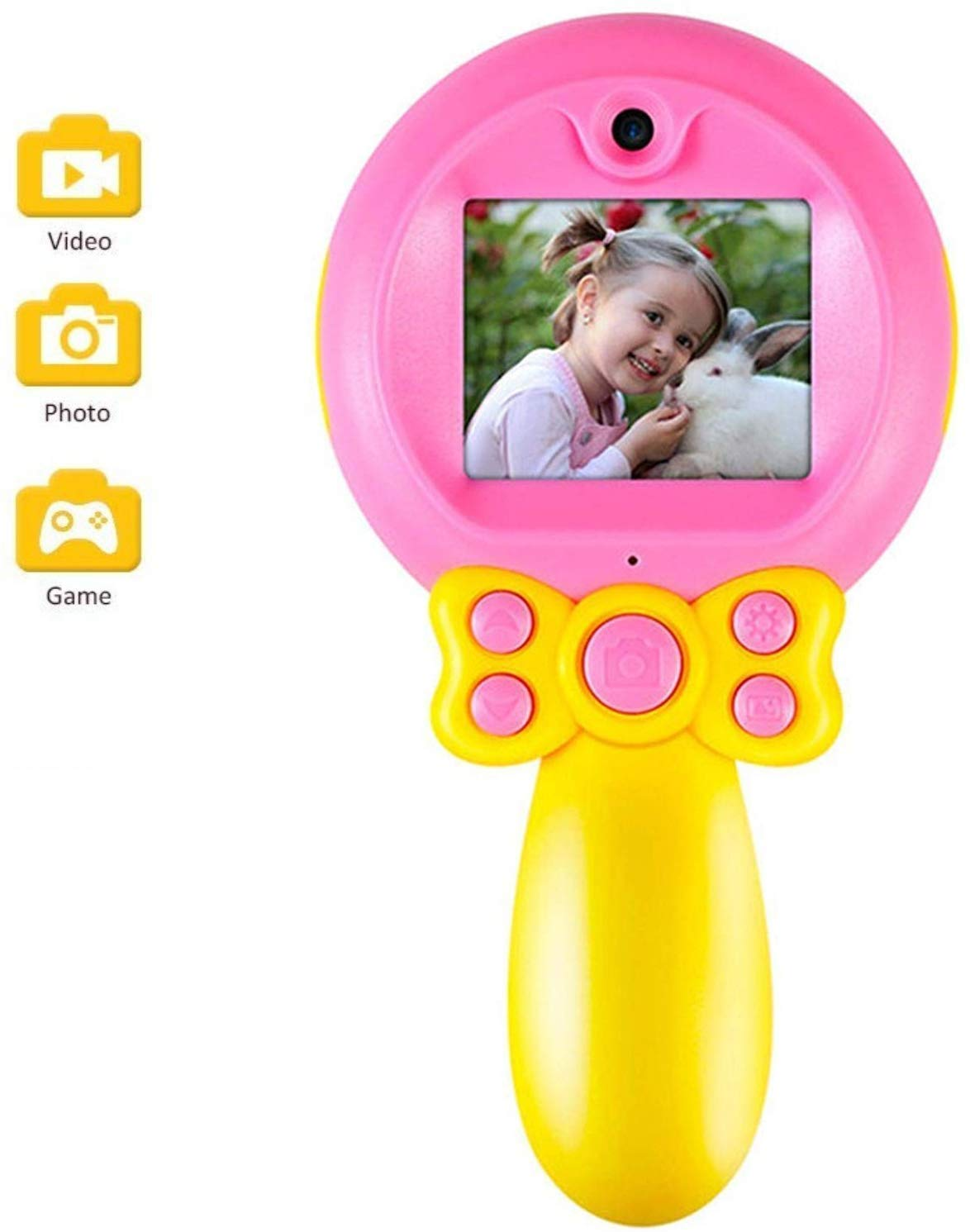 Micoke Kids Camera 1080P HD Video Kids Digital Camera Camcorder with Dual Camera