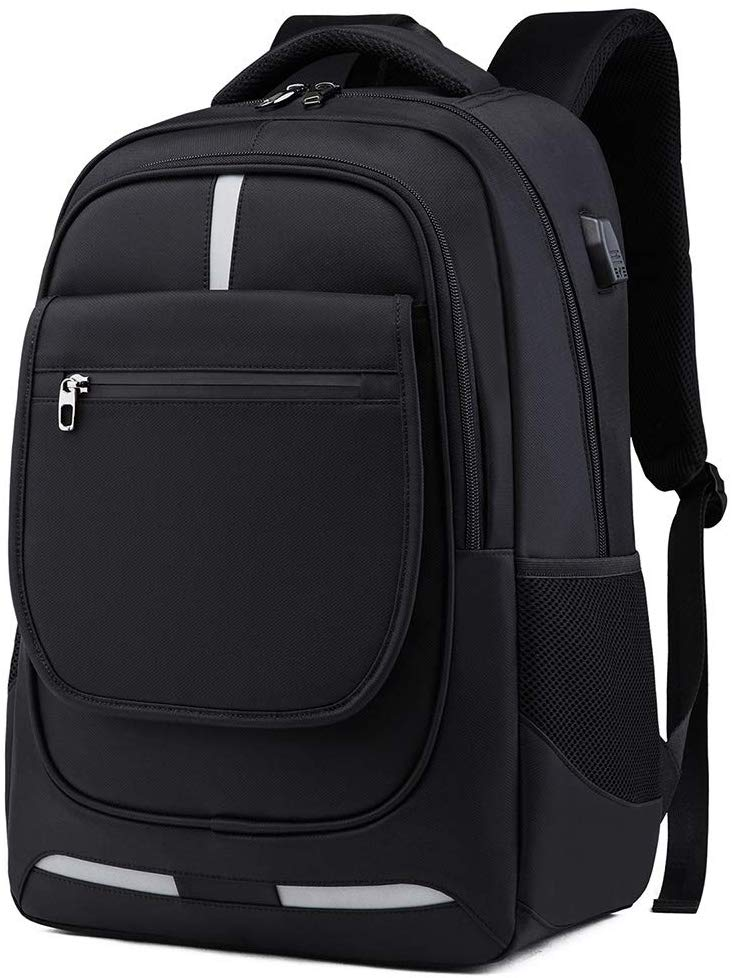60% OFF Travel Laptop Backpack with USB Charging Port