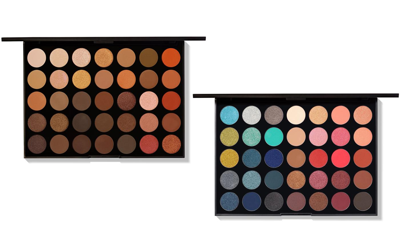 Morphe Nature Glow or Hot Spot Eyeshadow Palette Now £16.99