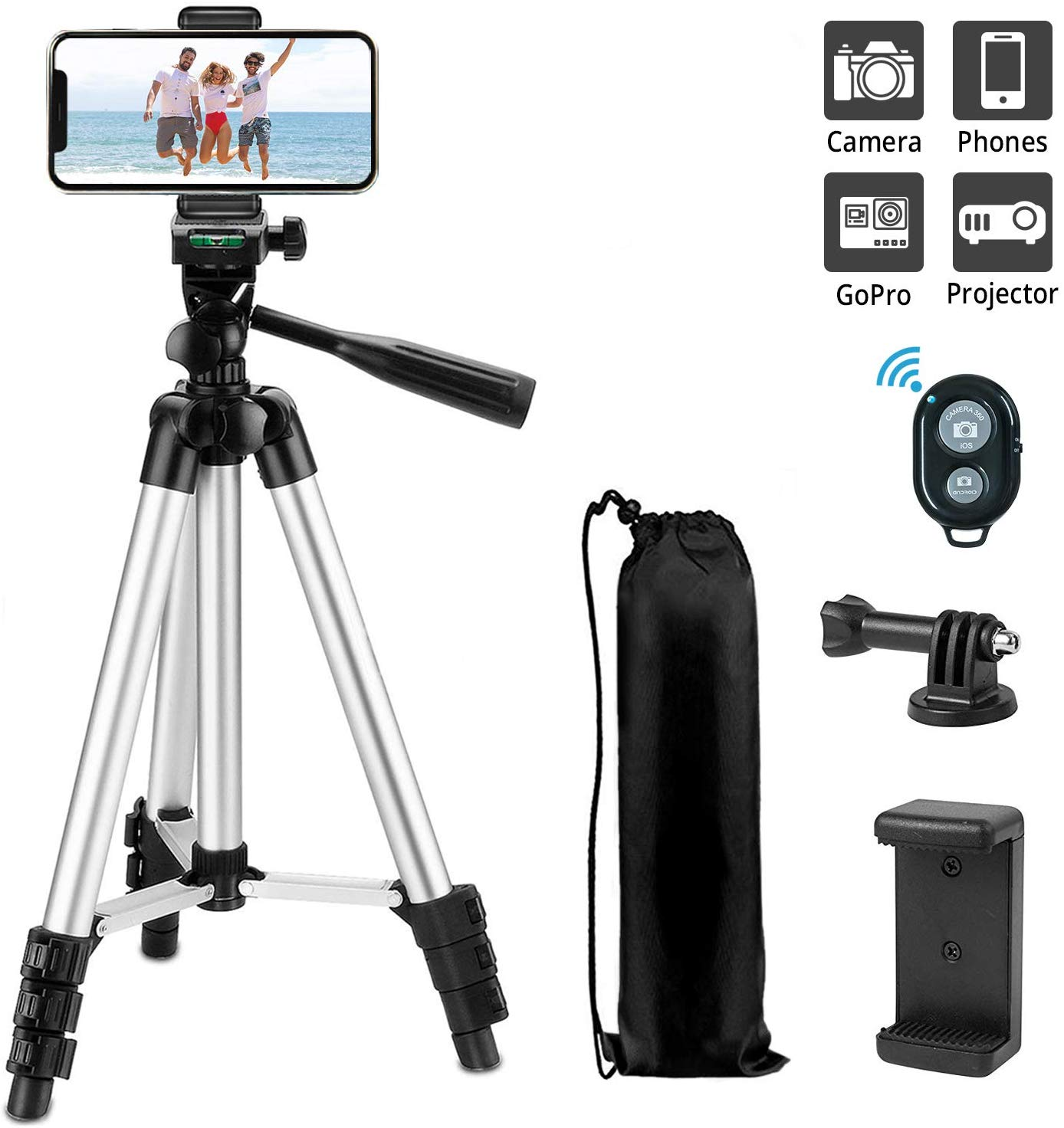 42 Inch Phone Camera Tripod – Flat 45% OFF