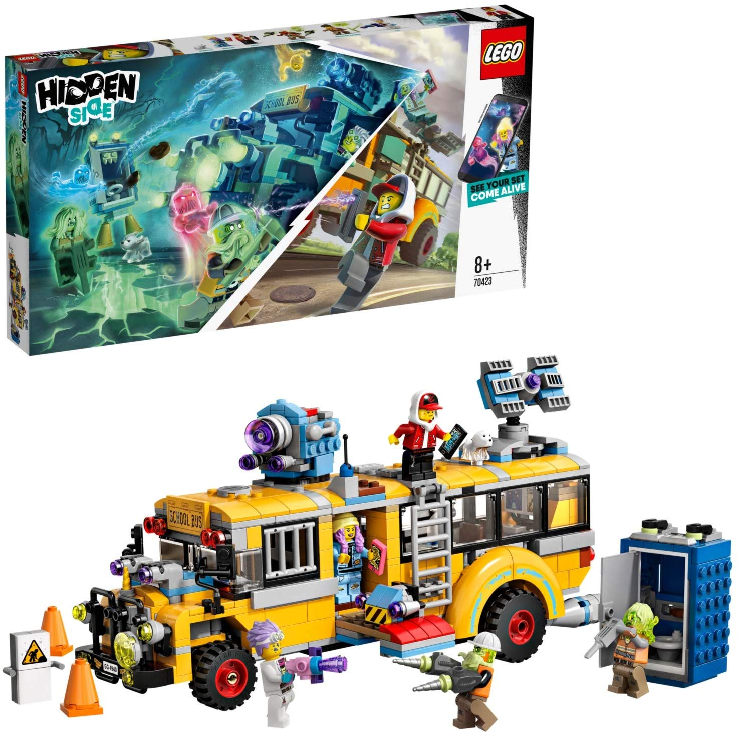 LEGO 70423 Hidden Side Paranormal Intercept Bus
