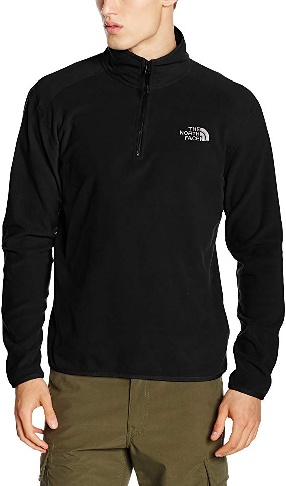 North Face Men's 100 Glacier 1/4 Zip Jacket