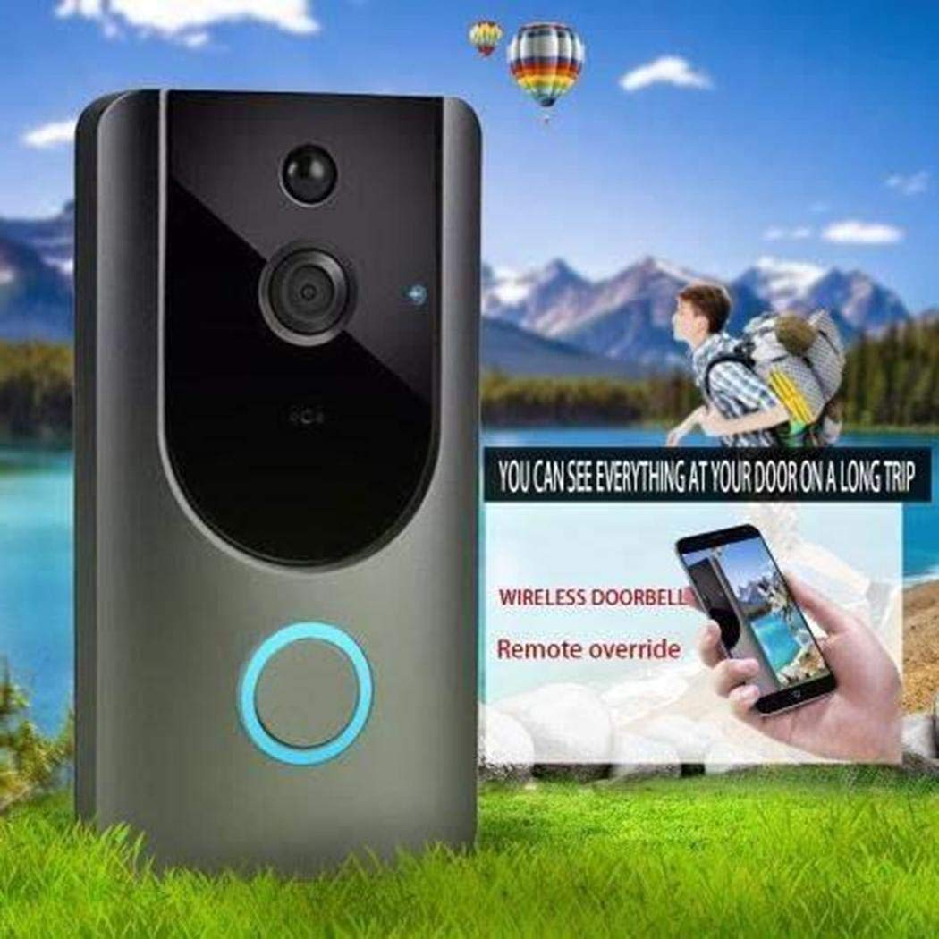 80% off M2 Wireless Visual Smart Doorbell Alarm Wifi Mobile Phone Remote Monitoring Door Chimes & Bells