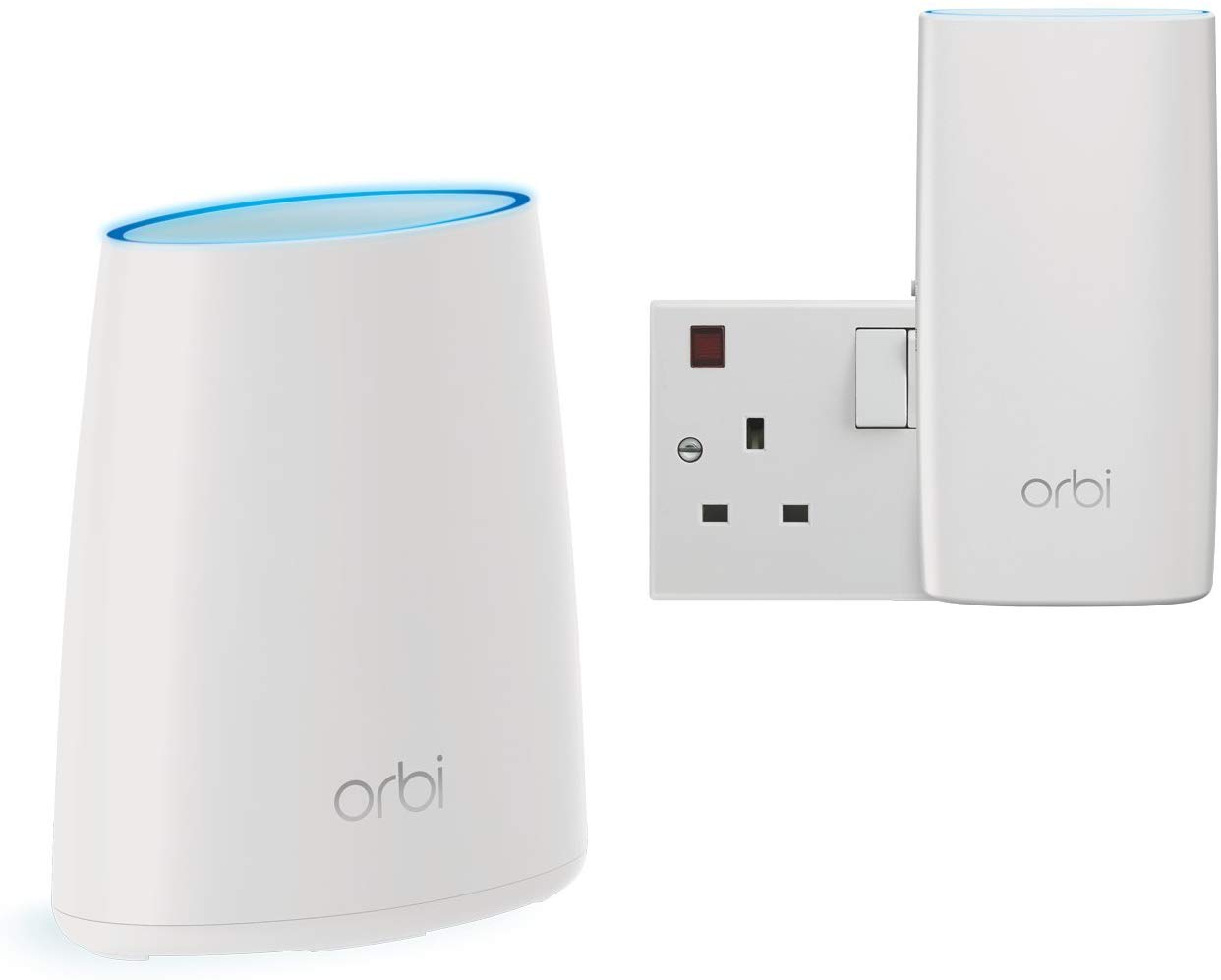 NETGEAR RBK30 Orbi System (Router and Satellite), upto 3000 sq ft Coverage