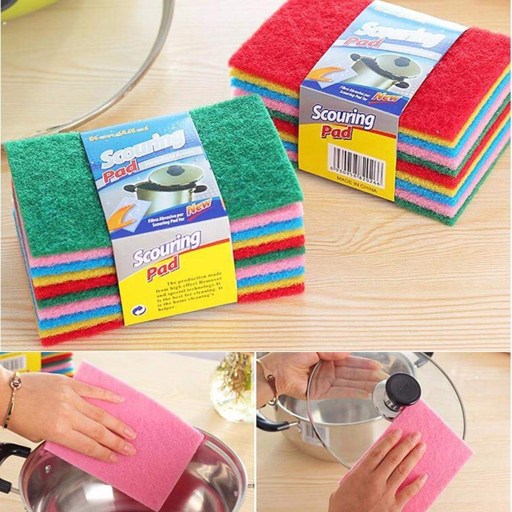 80% off Non-sticky Multifunctional Dishwashing Scouring Rag Cloths