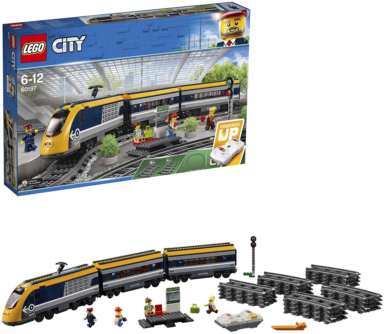 Save £47 on LEGO 60197 City Trains Passenger Train Set