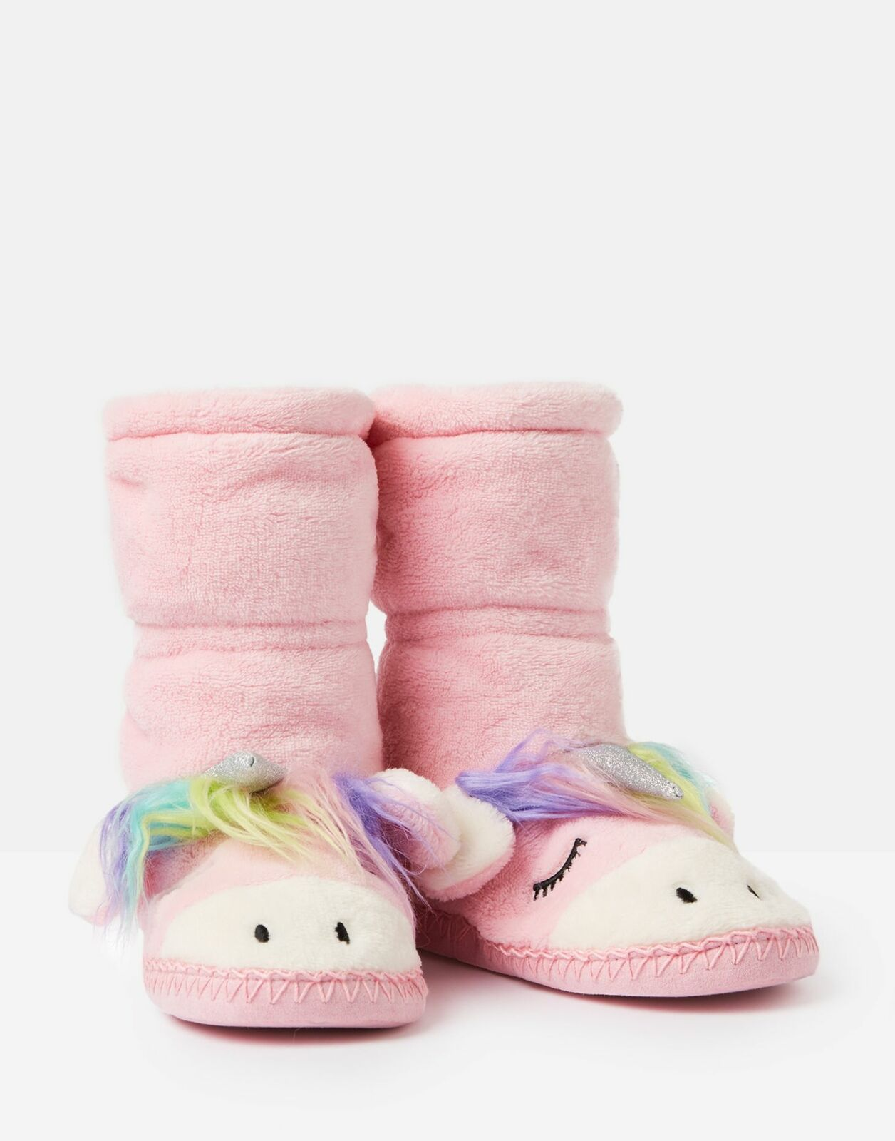 Joules Fluffy Slipper Sock in UNICORN for £9.84 on ebay
