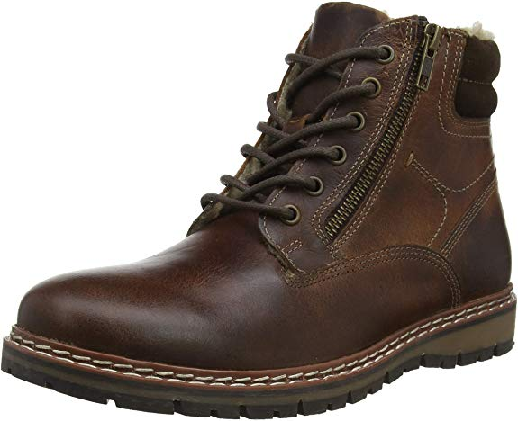 Red Tape Men's Sawston Combat Boots From £32.32 on Amazon