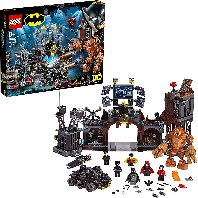 LEGO 76122 DC Batman Batcave Clayface Invasion Collectible Super Heroes Building Toys