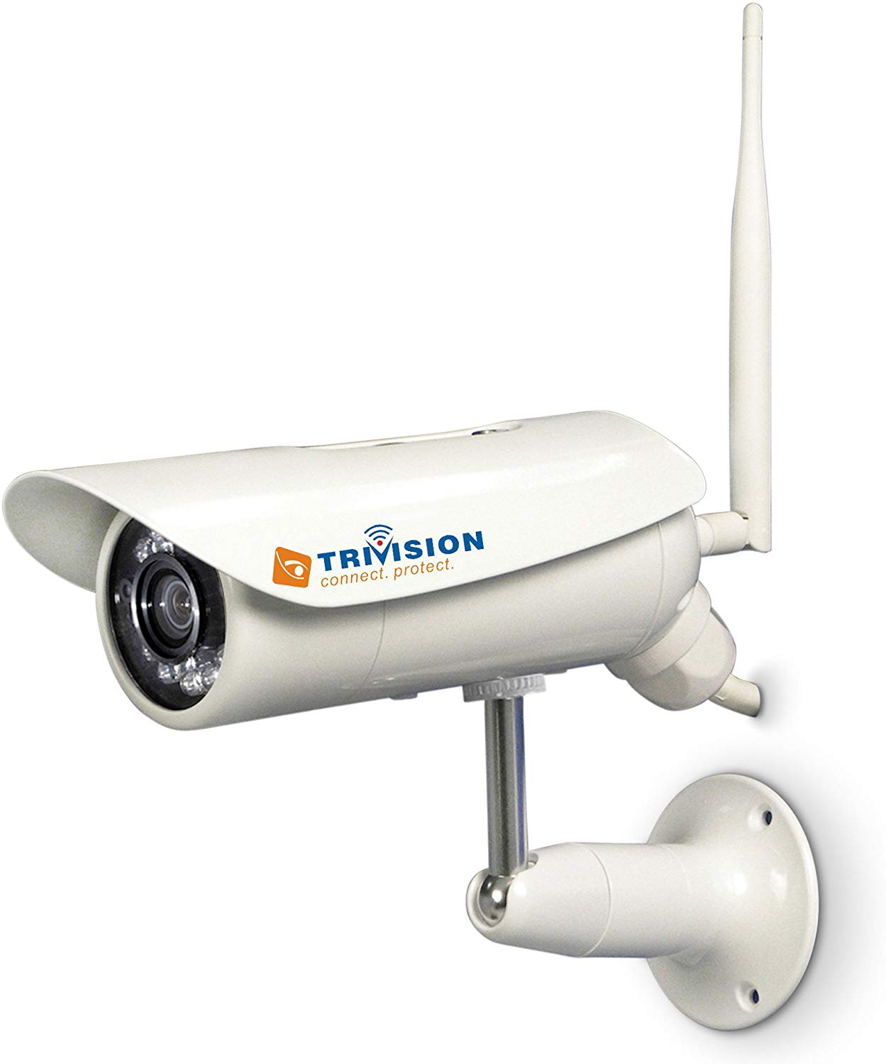 TriVision NC-336PW HD 1080P Bullet Waterproof Wireless Outdoor Home Security Camera System Wireless Wifi
