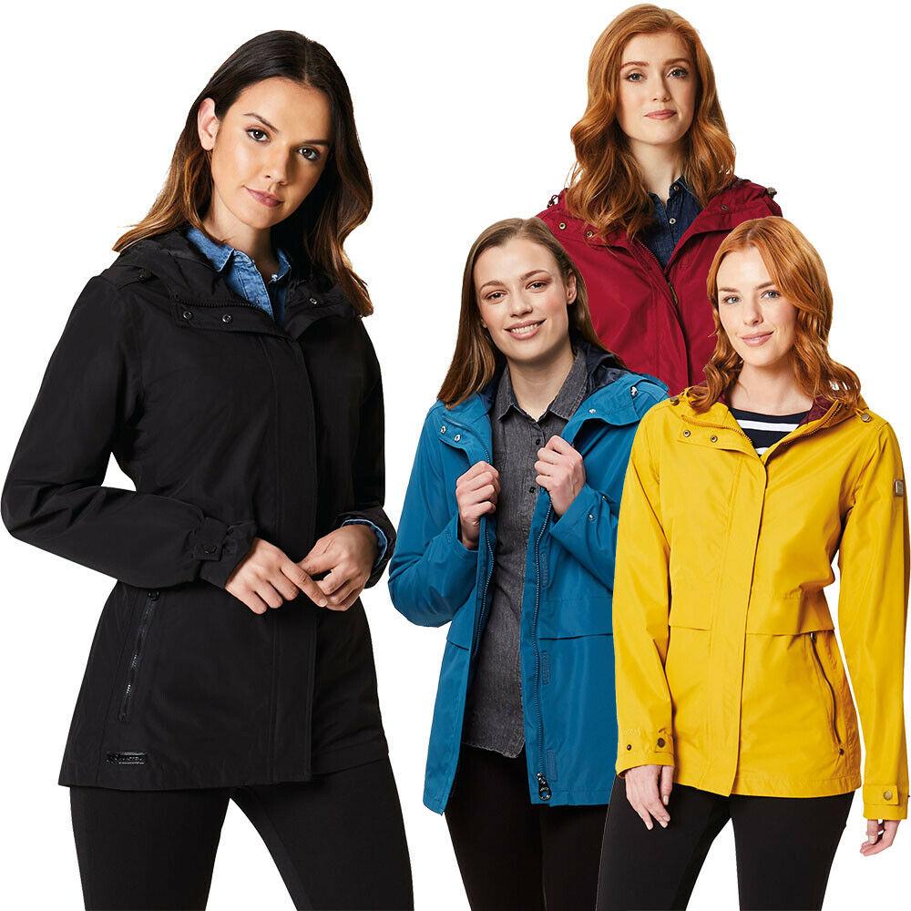 71% OFF Regatta Womens/Ladies Bidelia Breathable Poly Waterproof Coat Jacket