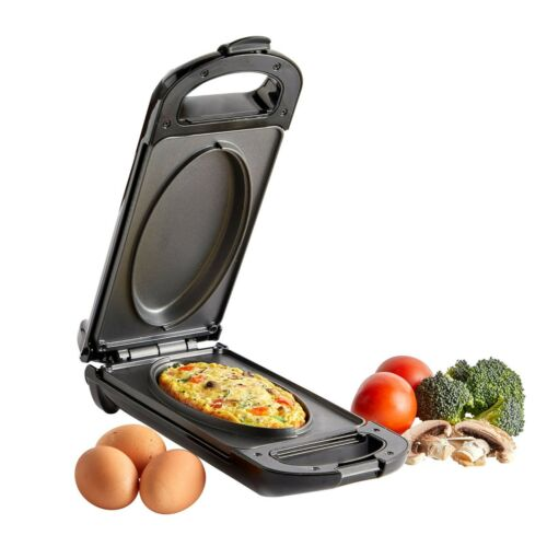 VonShef Omelette Maker Electric Non-Stick Egg Frying Pan Cooker £13.99 on eBay