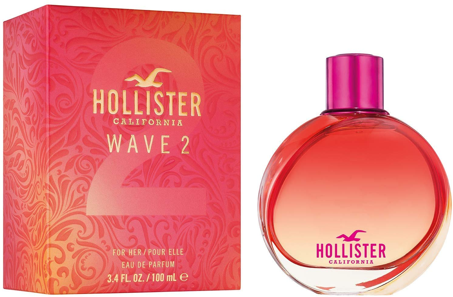 57% off Hollister Wave 2 for Her Eau de Parfum, 100ml