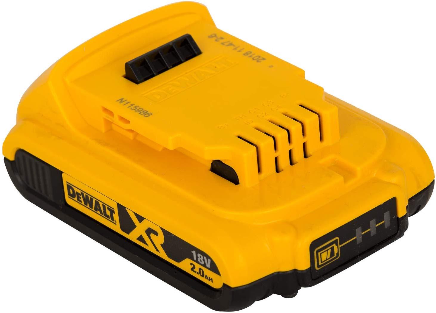 Dewalt DCB183 2 Ah Li-Ion Battery Pack, 18 V -£26.45