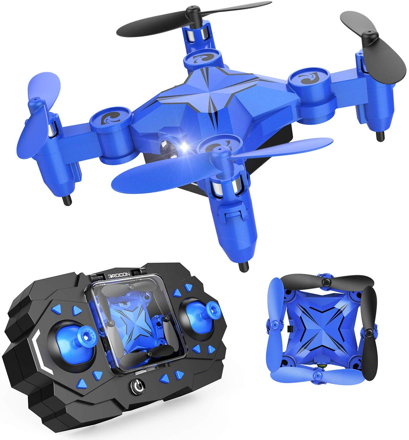 DROCON Mini Drone for Kids and Beginners, Foldable Mini RC Helicopter Quadcopter